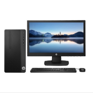 图片 HP 288 Pro G3 MT 台式电脑 I3- 6100  4G  DDR4 2400 1000G  DVDRW WIN7PRO大客户优先服务三年保修 310W电源 网络同传 +20寸显示器