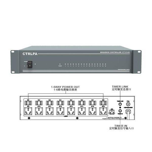 图片 CTRLPA CT1314XC广播电源时序器一年保修