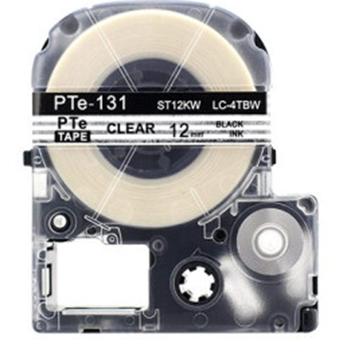 图片 12mm白底黑字碳带(适用于爱普生标签机LW-600P) 色带