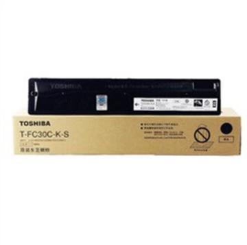 图片 东芝T-FC30C-K-S碳粉125g(适用于2551c复印机墨盒)(黑色)