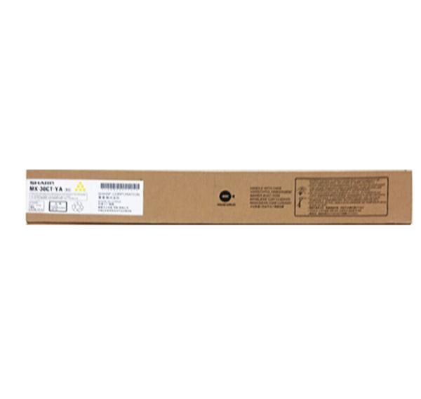 图片 夏普MX-30CT YA墨粉244g(适用于MXc3801R复印机碳粉盒)黄色