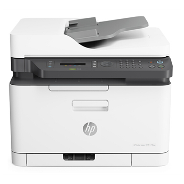 图片 惠普 (HP)Color Laser MFP 179fnw锐系列新品彩色激光多功能一体机 四合一, 一年送修