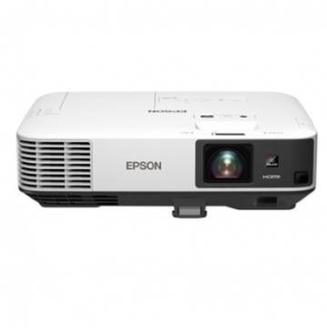 图片 爱普生(EPSON) CB-2255U会议室投影含吊架、110寸遥控电动幕、USB无线传输、光纤HDMI线、电脑音箱、激光笔/一年保修