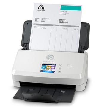 图片 惠普 HP ScanJet Pro N4000 snw1 彩色扫描仪 1年下一个工作日上门