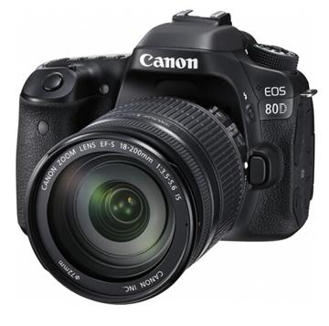 图片 佳能EOS 80D套机EF-S18-135MM F/3.5-5.6 IS USM  一年保修-复制